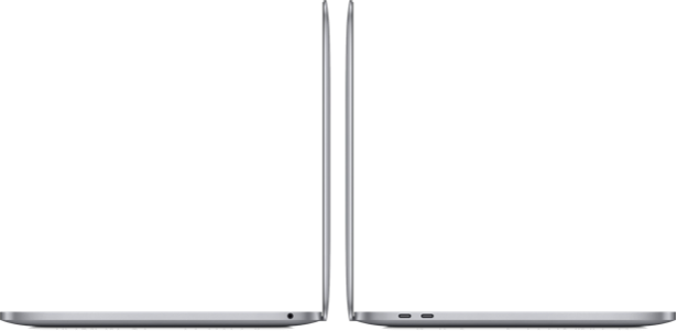 MacBook Pro 13 inch - Space Gray - 2020 (poorten)